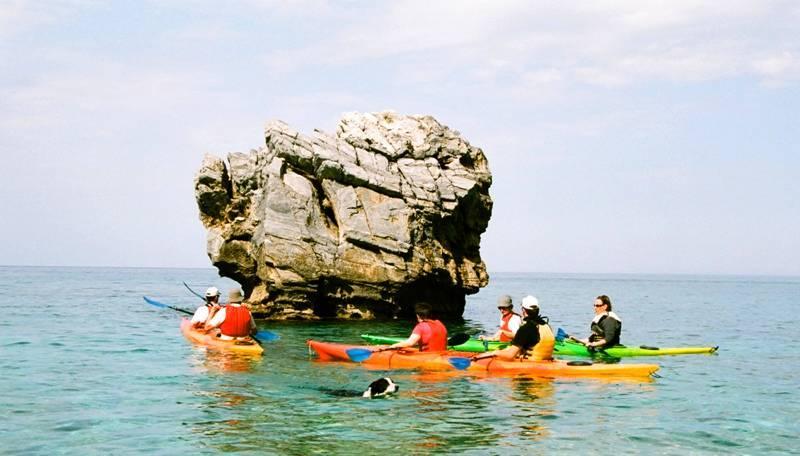 sea activities in east Pelion